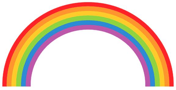 Rainbow Bridge Clip Art.