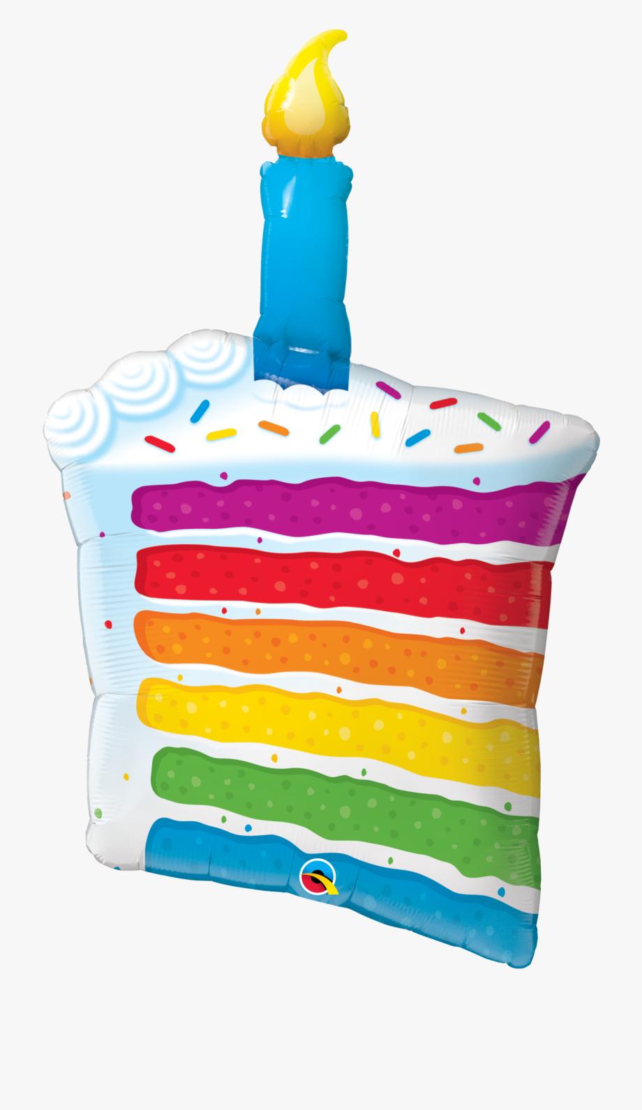 Rainbow Clipart Candle.