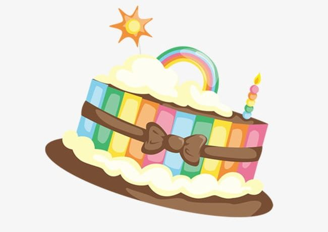 Rainbow Cake PNG, Clipart, Cake, Cake Clipart, Cake Clipart.