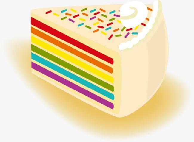 Rainbow cake clipart 5 » Clipart Portal.