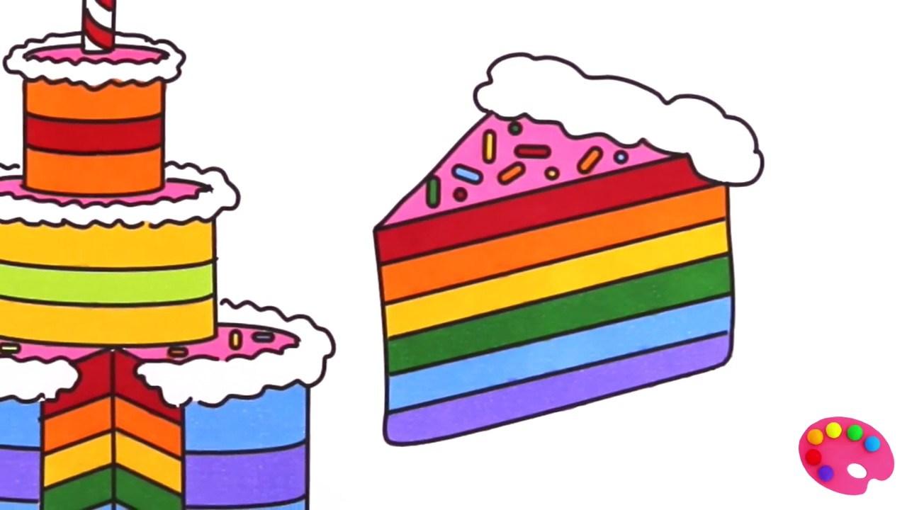 Rainbow cake clipart 7 » Clipart Portal.