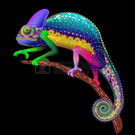 3,428 Chameleon Cliparts, Stock Vector And Royalty Free Chameleon.