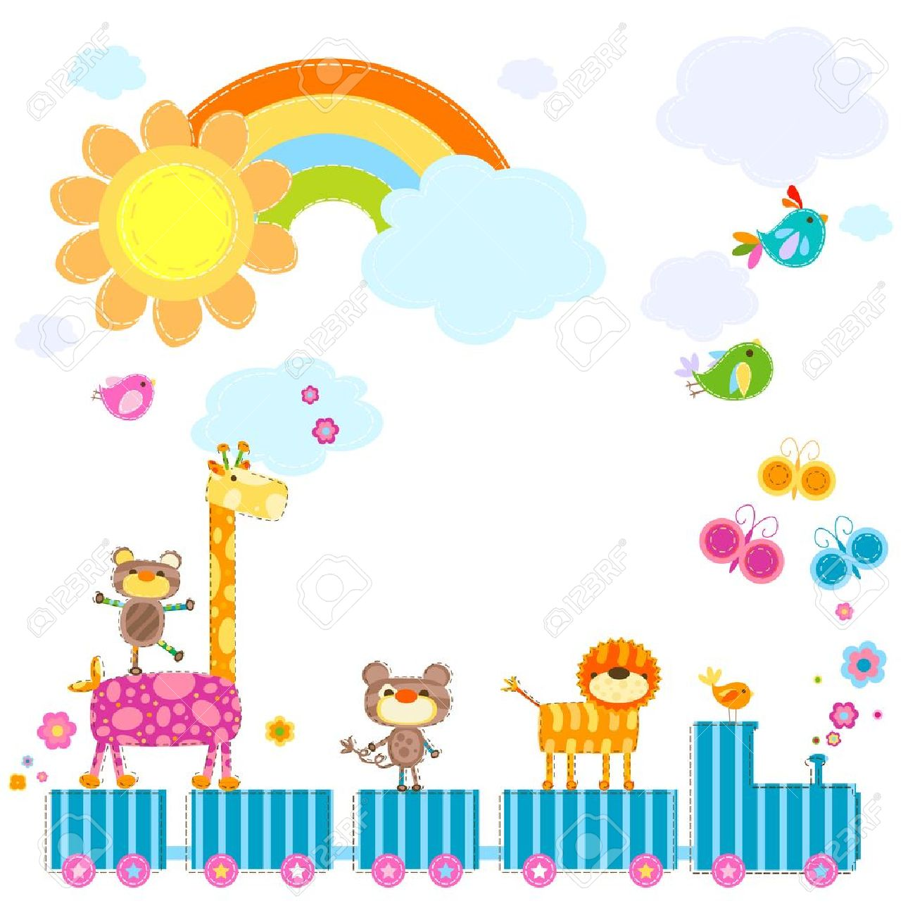 8,289 Rainbow Kids Stock Vector Illustration And Royalty Free.