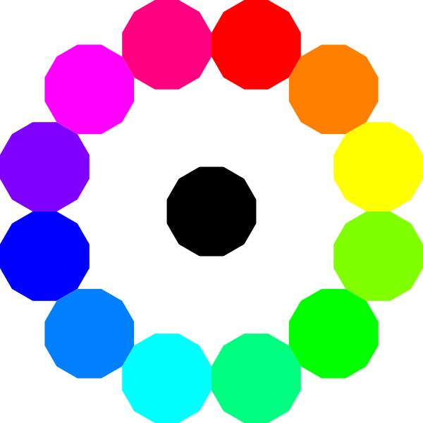 Rainbow Circle Clip Art at Clker.com.