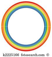 Rainbow circle Illustrations and Clipart. 5,646 rainbow circle.