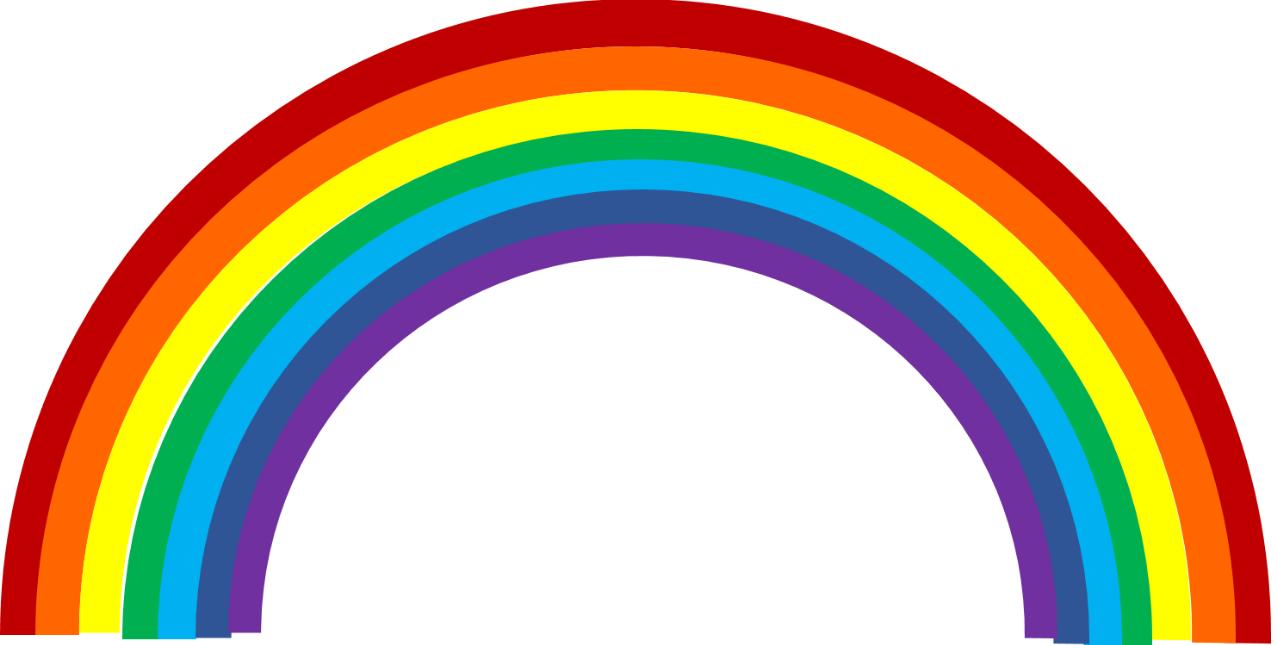 Rainbow Clip Art, Rainbow Free Clipart.