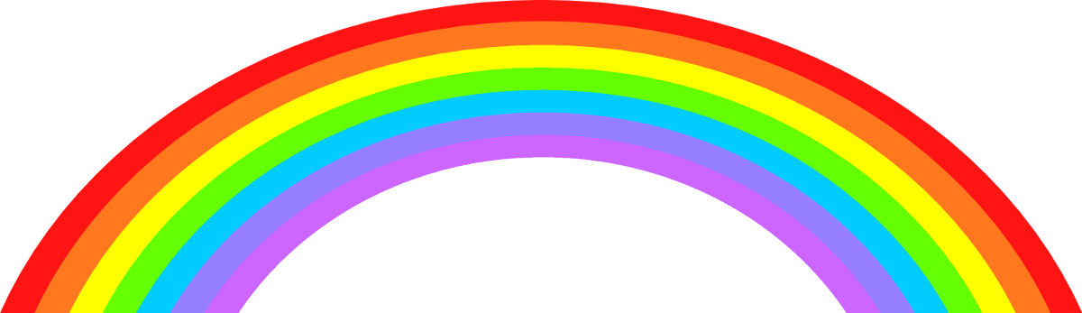 Rainbow clipart images clipart clipartcow.