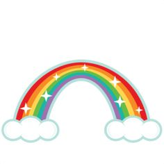 Over The Rainbow Clipart by LittleMoss on Etsy.