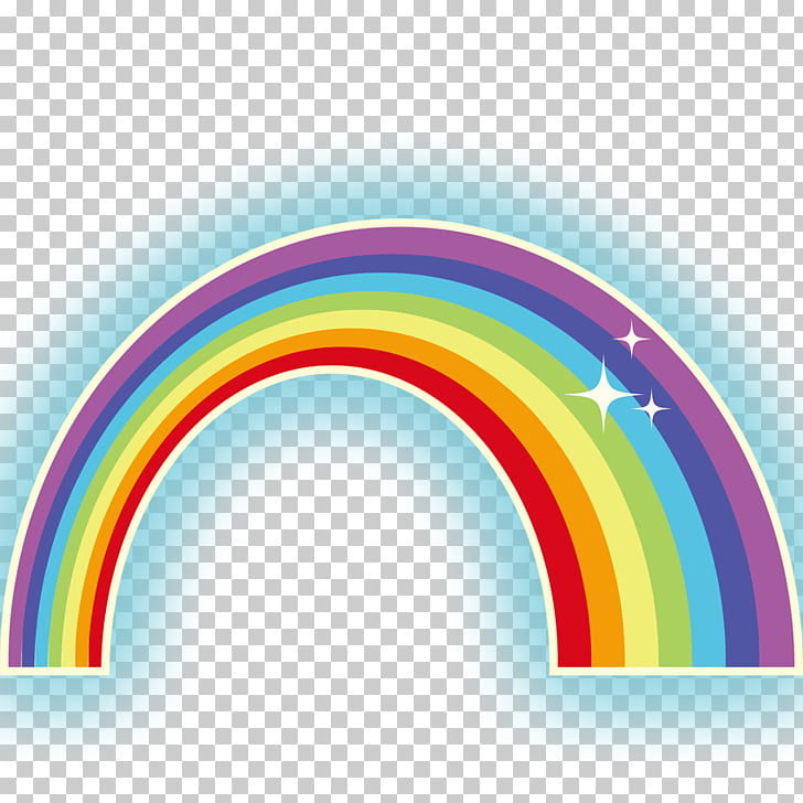 Rainbow Color Computer file, rainbow PNG clipart.