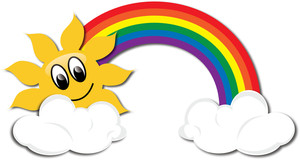 Rainbow Clipart For Kids.
