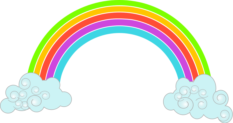 Free Free Rainbow Clipart, Download Free Clip Art, Free Clip.