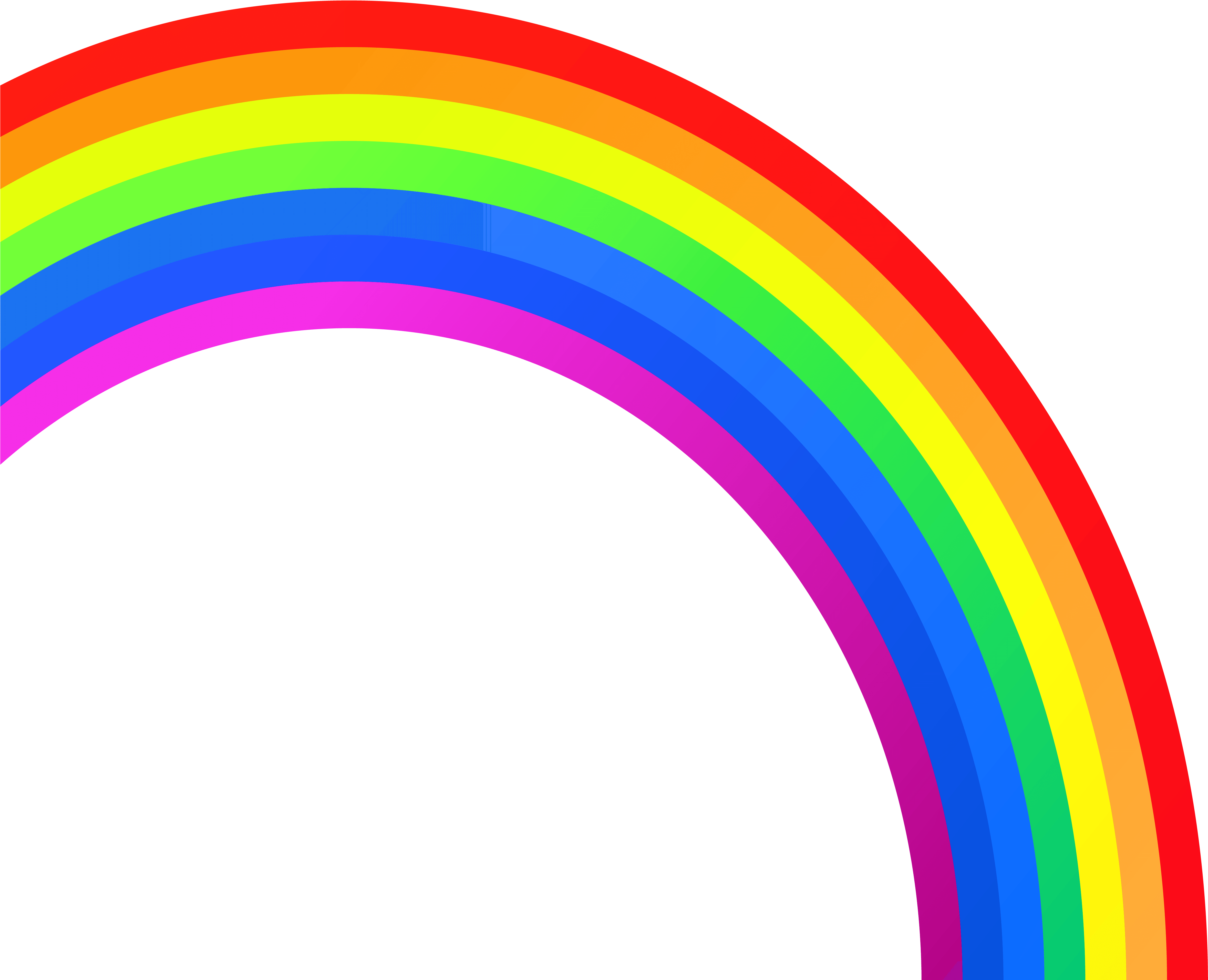 Rainbow Clip Art Free Clipart Image 2 Hanslodge Cliparts.