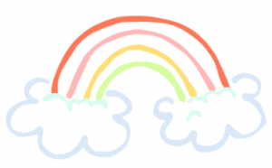 999+ Rainbow Clipart Black and White [Free Download.