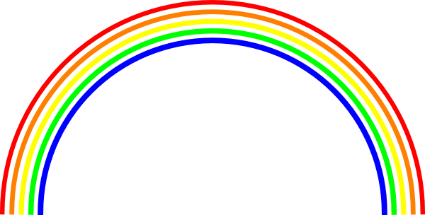 Best Rainbow Clipart #3265.
