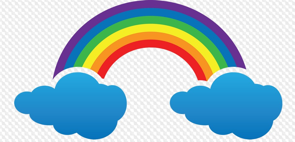 99 PNG, Planets, rainbow, clouds, snow, river, rain.