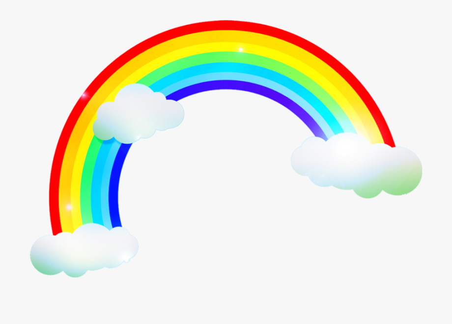 Rainbow Clipart For Kids.