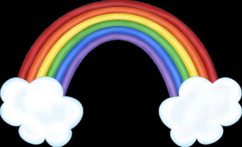 Rainbow clipart tumblr.
