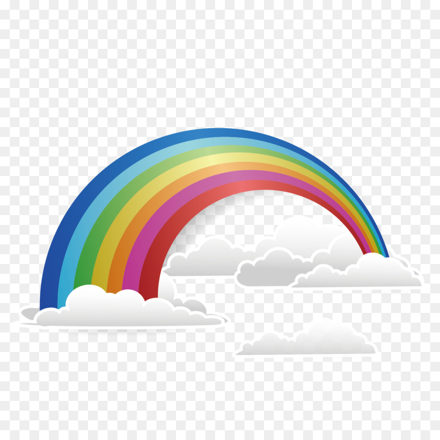 Rainbow Line png download.