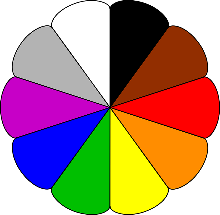 Free vector graphic: Colours, Rainbow Colors, Circle.