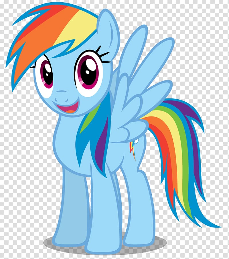 Rainbow Dash Twilight Sparkle My Little Pony, Rainbow Dash.