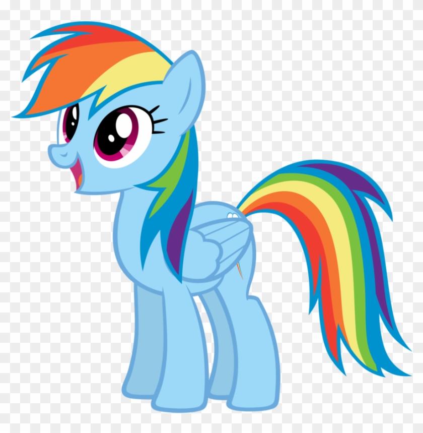 Pony Clipart Rainbow Dash.