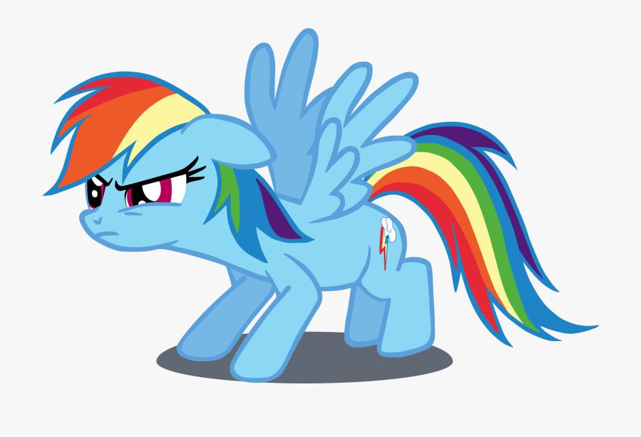 Clipart Of Rainbow Dash.