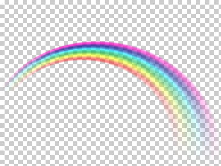 Rainbow Icon, Rainbow effect, rainbow illustration PNG.