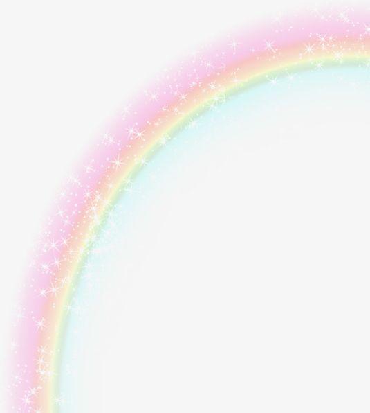 Starlight Rainbow Effect Element PNG, Clipart, Effect.