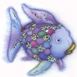 Rainbow Fish Clip Art.