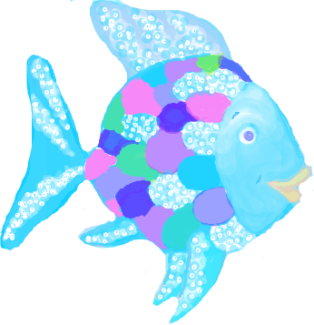 Rainbow fish clipart Clipground