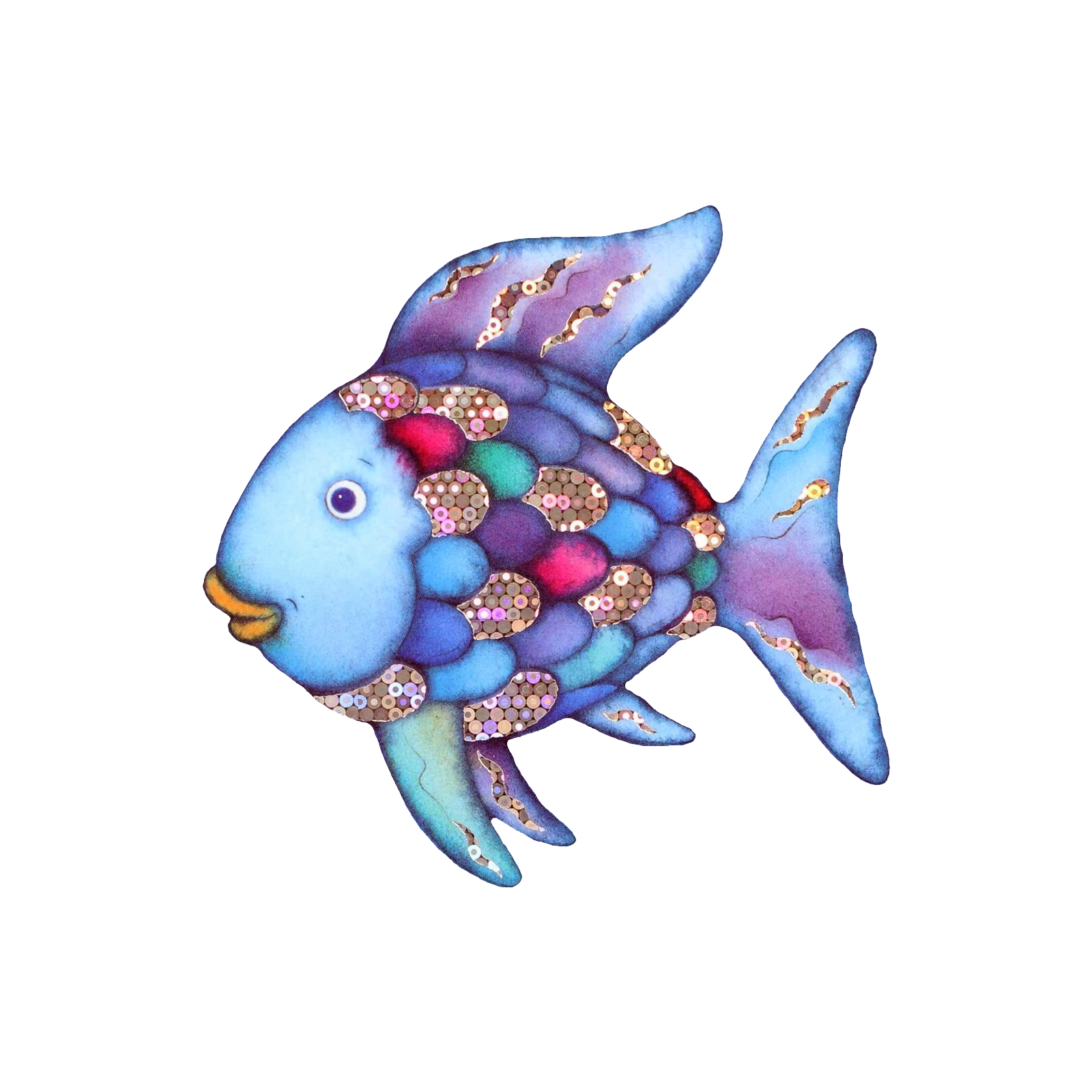 Rainbow Fish Images Clipart.