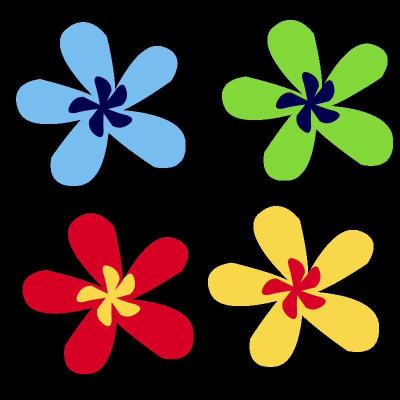 Rainbow Flower Clip Art Download.