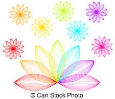 Rainbow flowers Clip Art Vector and Illustration. 6,726 Rainbow.