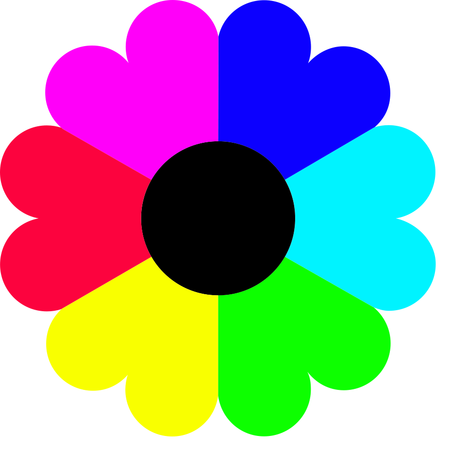 Rainbow Colors Cliparts.