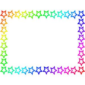 Rainbow Frame.
