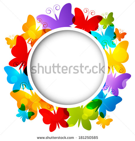 Rainbow Frame Stock Images, Royalty.