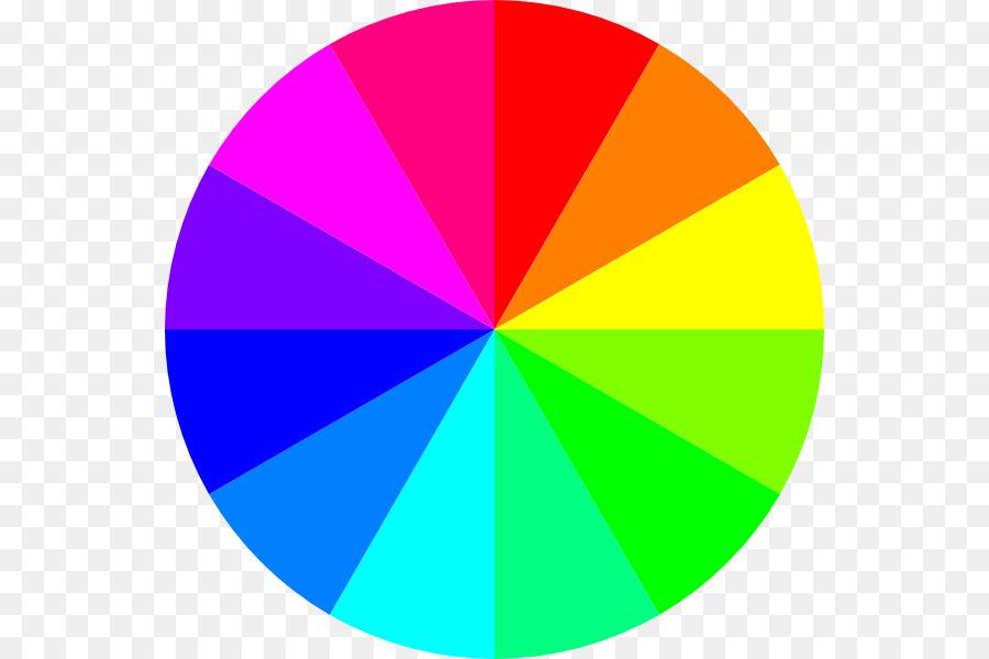 Rainbow Circle clipart.