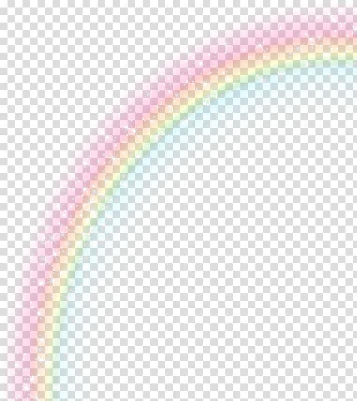 Rainbow , Light Rainbow Icon, Flash rainbow transparent.