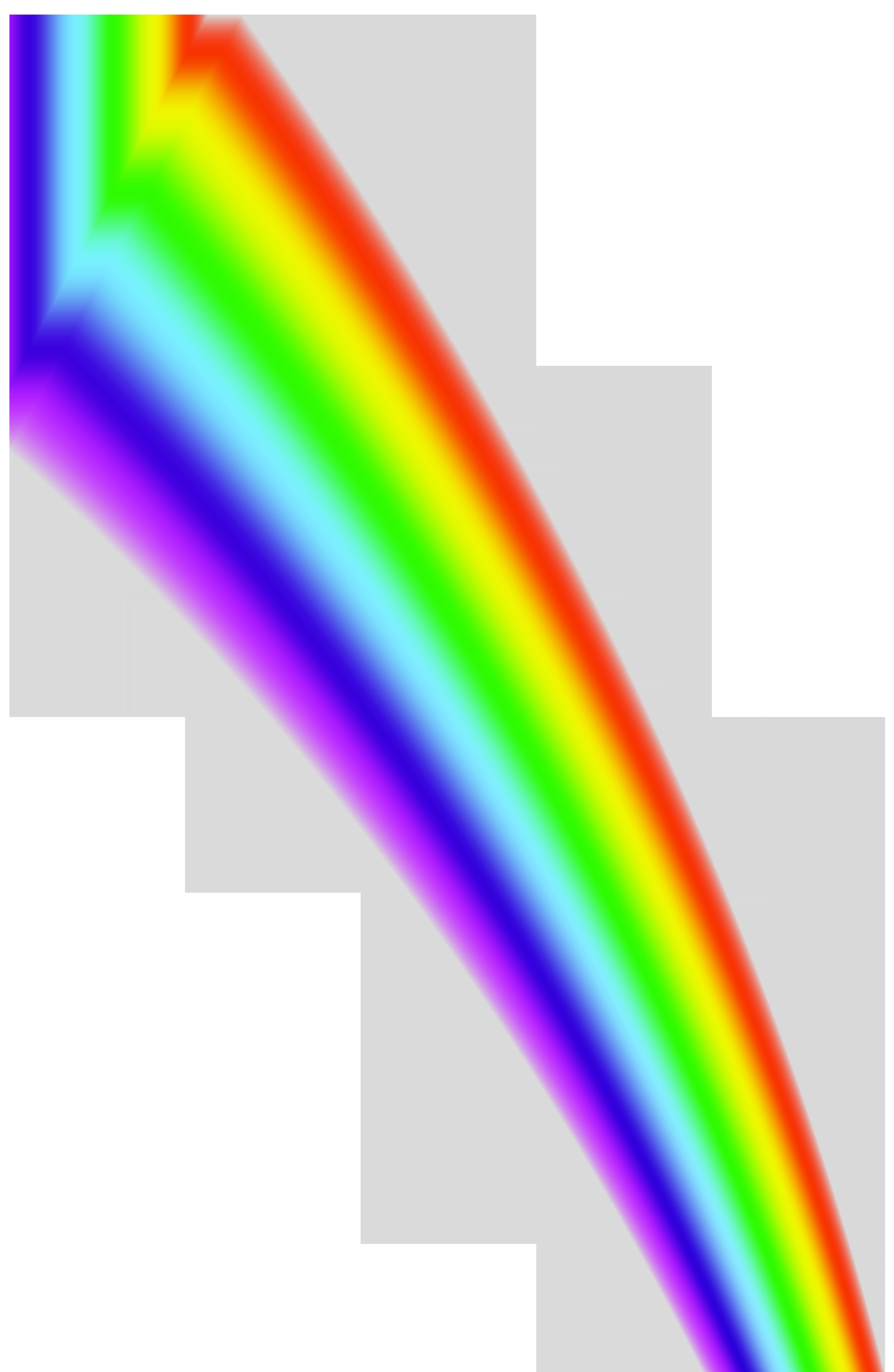 Rainbow Line Transparent PNG Clip Art Image.