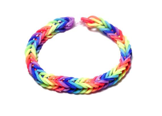 Rainbow Loom Clipart.