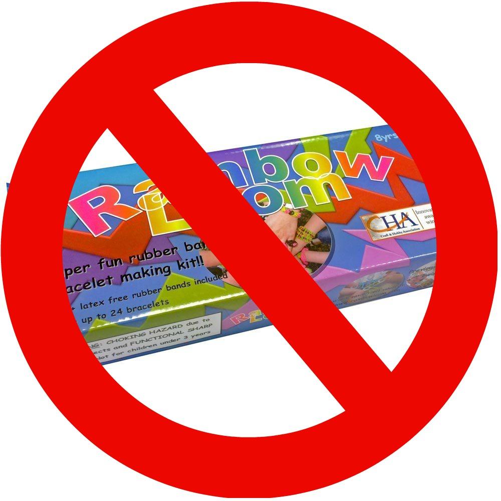 Schools Banning Rainbow Loom.