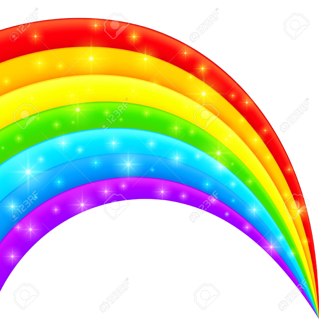 8,067 Magic Rainbow Stock Vector Illustration And Royalty Free.