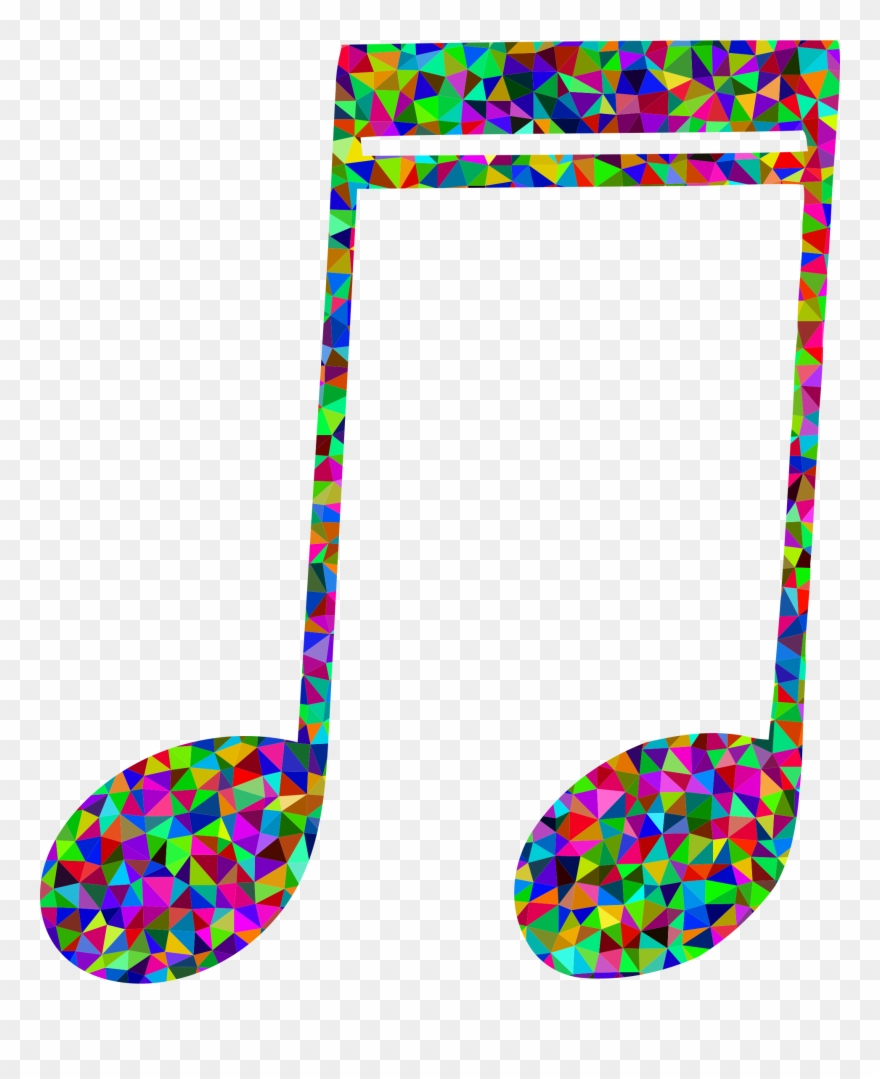 Download Polygon Musical Note Clipart Musical Note.