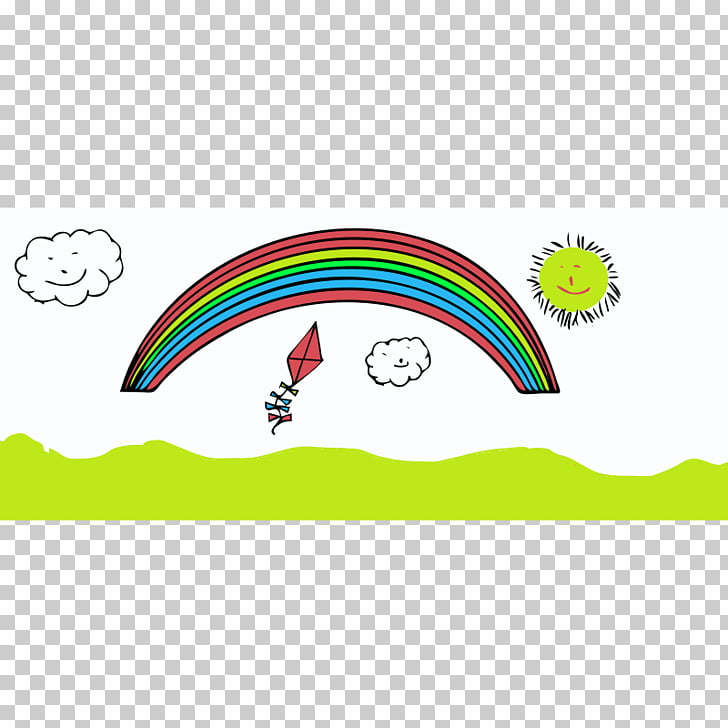 Cartoon Rainbow , Happy s Of People PNG clipart.