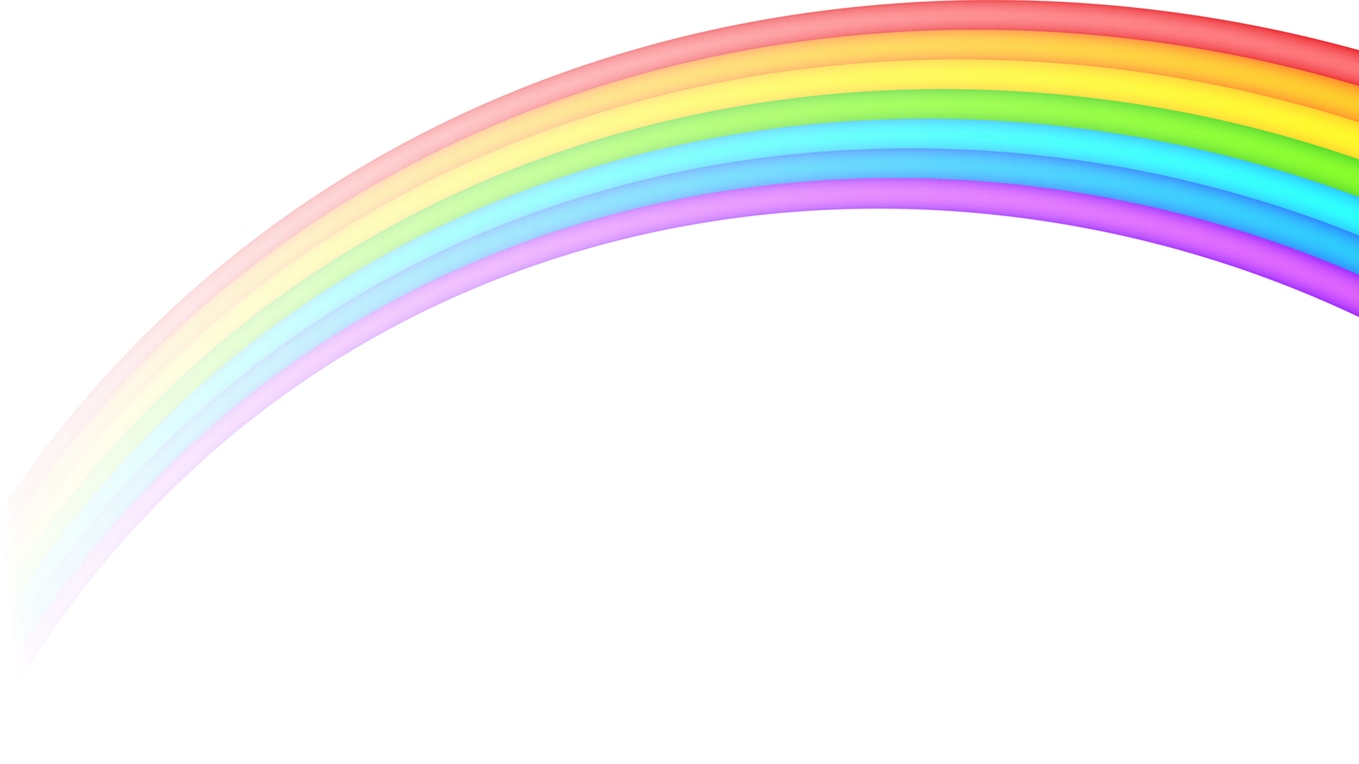 Rainbow PNG Transparent Images, Pictures, Photos.