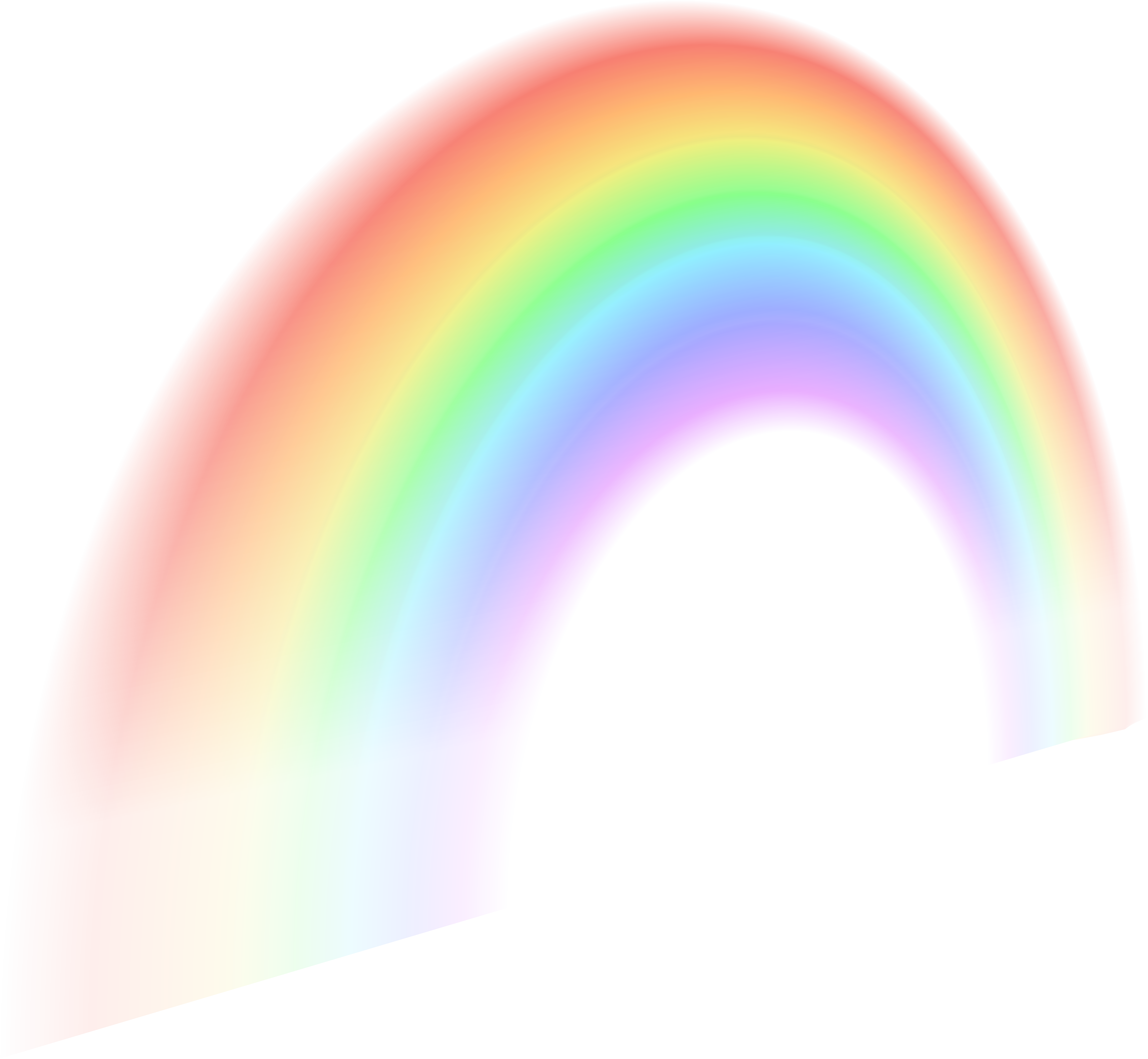 Rainbow PNG Free Clip Art Image.