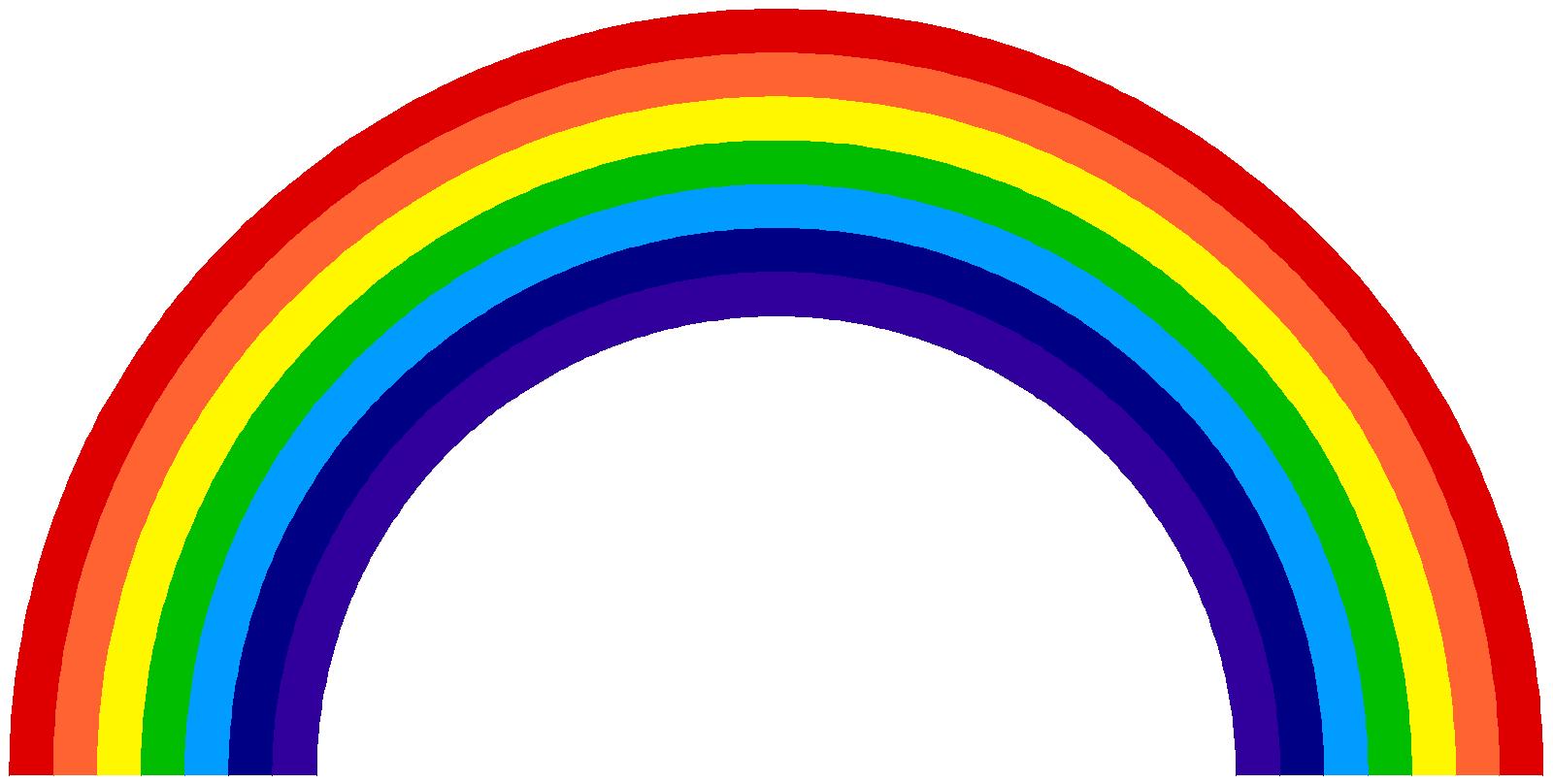 Rainbow PNG Transparent Images.
