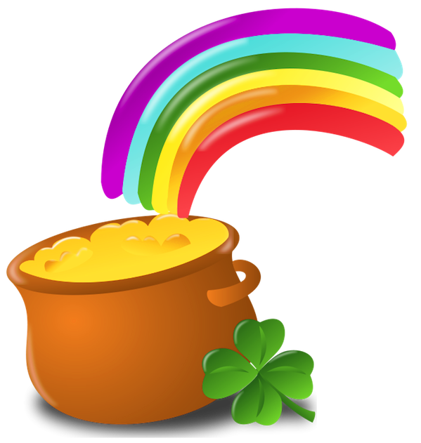Free Rainbow Pot Of Gold Png, Download Free Clip Art, Free.