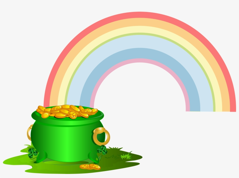 Green Pot Of With Png Clip Art.