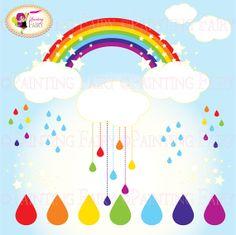 Rainbow clipart.
